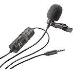 Insignia NS-DLMIC10P Microphone - Omni-Directional - Black