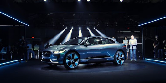 Electric shots fired: Meet the I-Pace, a new Jaguar EV concept