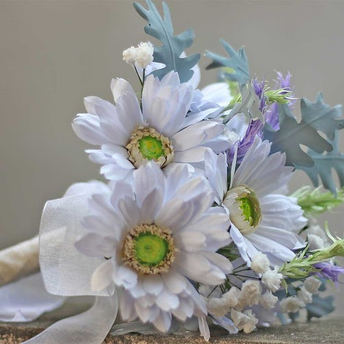 Handmade Wedding Bouquet Of Paper Flowers Diy Gerbera
