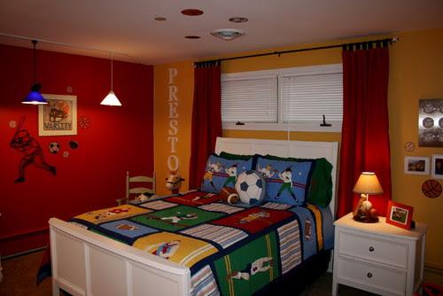 Boys Bedroom contemporary bedroom