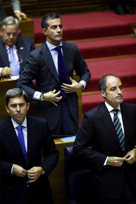Las fotos censuradas en Valencia  - El portavoz Ricardo Costa