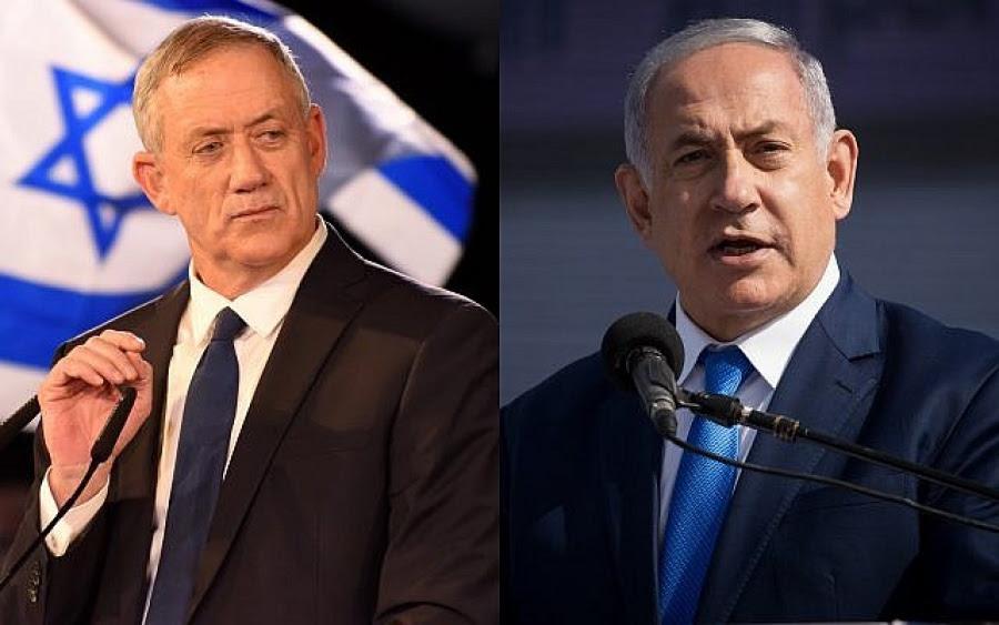 Εκλογικό θρίλερ στο Ισραήλ - Ισοπαλία Gantz - Netanyahu, αδυναμία σχηματισμού κυβέρνησης