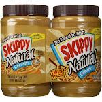 Skippy 2 48 oz Natural Peanut Butter