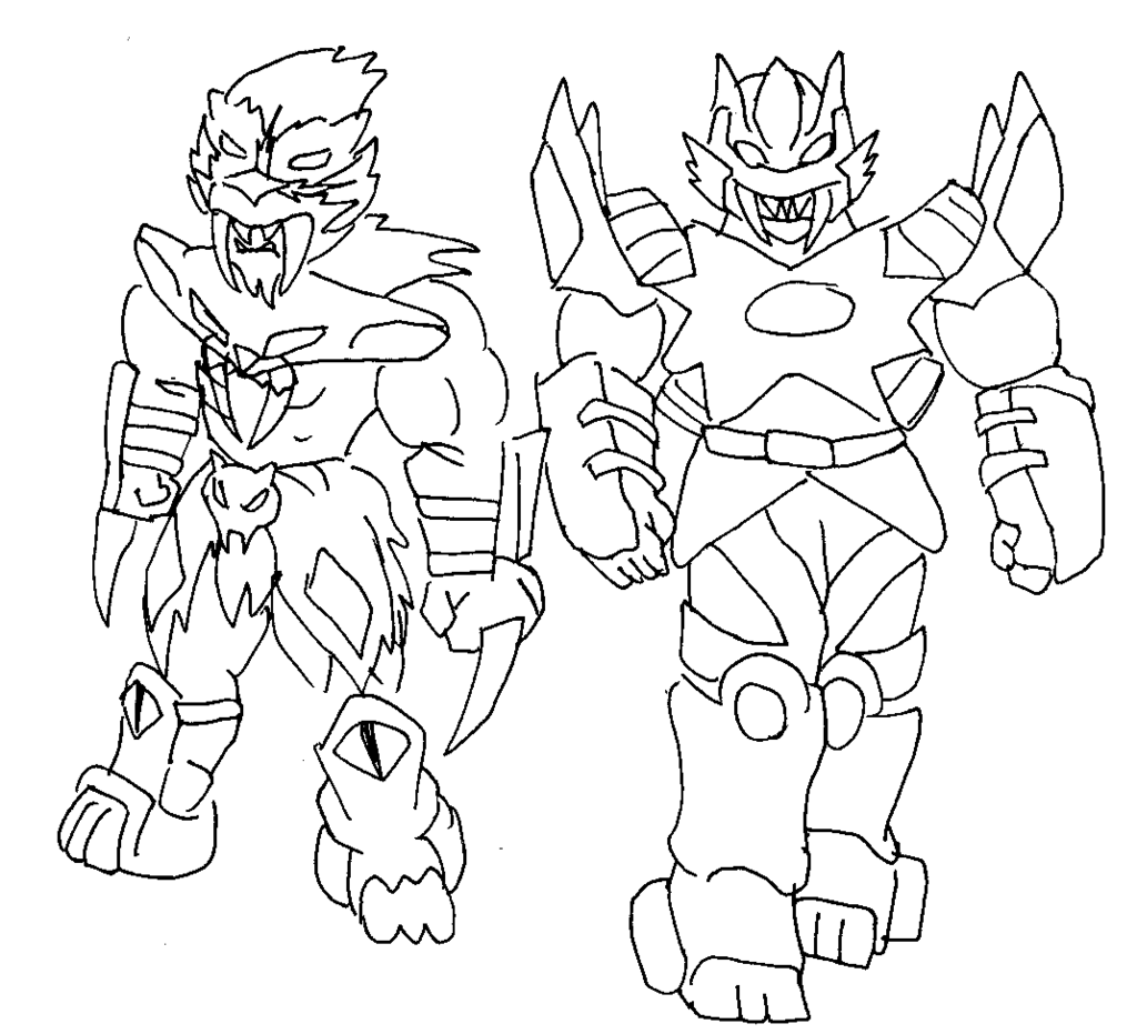 Power Rangers Wild Force Coloring Pages At Getcolorings Com Free