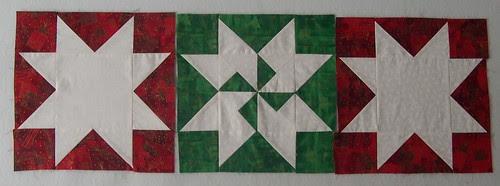 Three reverse blocks