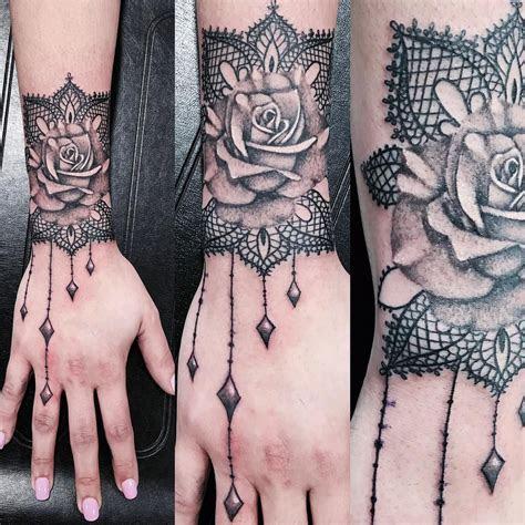 rose lace design tattoo lace tattoo design lace