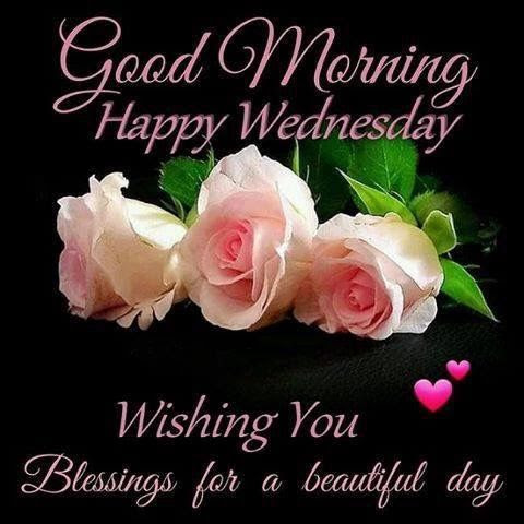 Good Morning Happy Wednesday Blessing Quote Wednesday