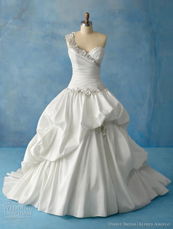Alfred Angelo Disney Bridal Princess Tiana wedding dress