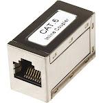 Intellinet Network coupler - CAT 6 - Silver