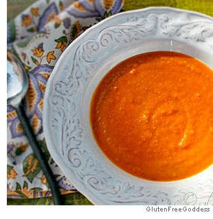 Picture of Sweet Potato Soup with Ginger