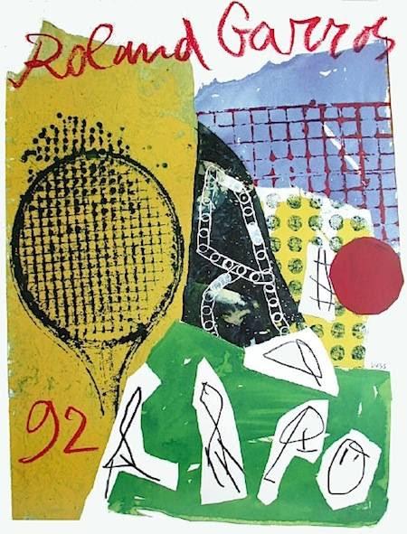 I manifesti del Roland Garros dal 1980Design Playground ...