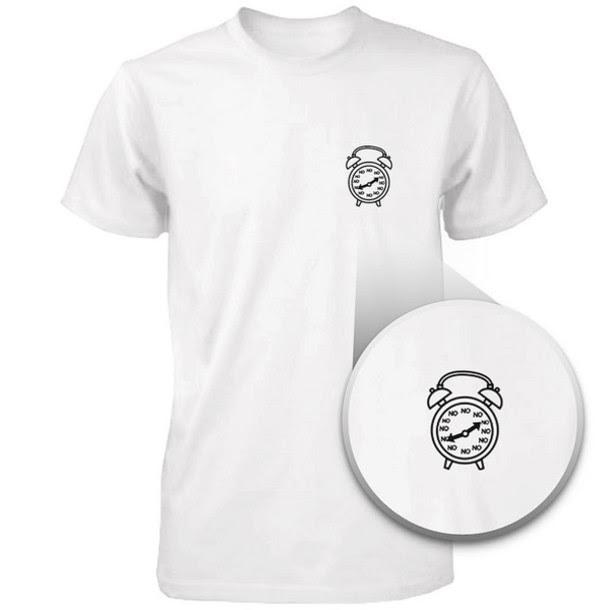 T Shirt Printed Shirts Graphic Tee Pocket Shirts Cute Pocket