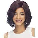 Clemence Lace Front Synthetic Wig by Vivica Fox in P2216, Cap Size: Average, Length: Medium