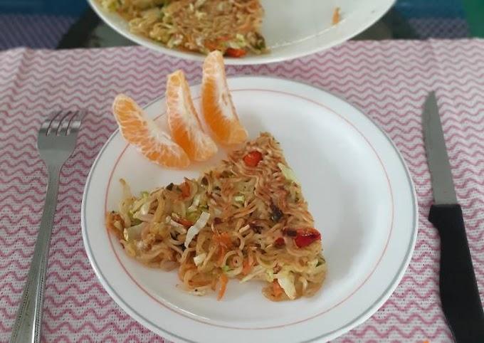Resep Membuat Omelete Mi Dan Sayur Anti Gagal
