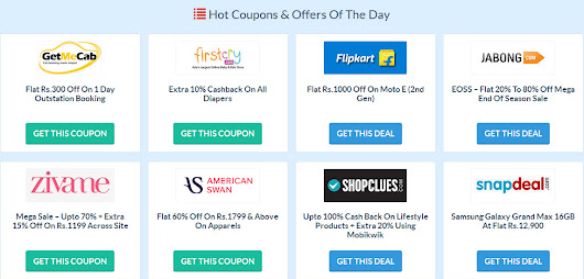 CouponzGuru – Get Top Deals, Best Discounts, and All Coupons at One Place