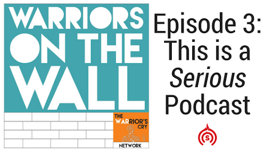 This is a Serious Podcast with Pepe Poutine | Warriors On The Wall