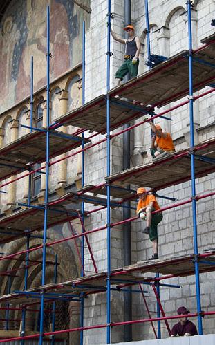 Kremlin construction crew