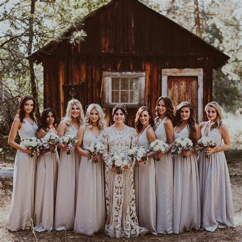 Katie Maloney's rustic bridal party wore effortlessly chic