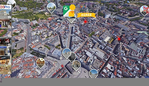 Visites Virtuelles de Lille | Google Maps Business View