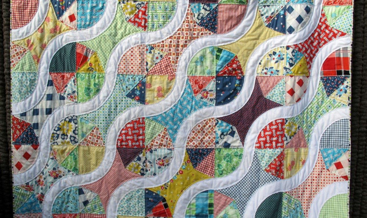 New vintage quilt done!