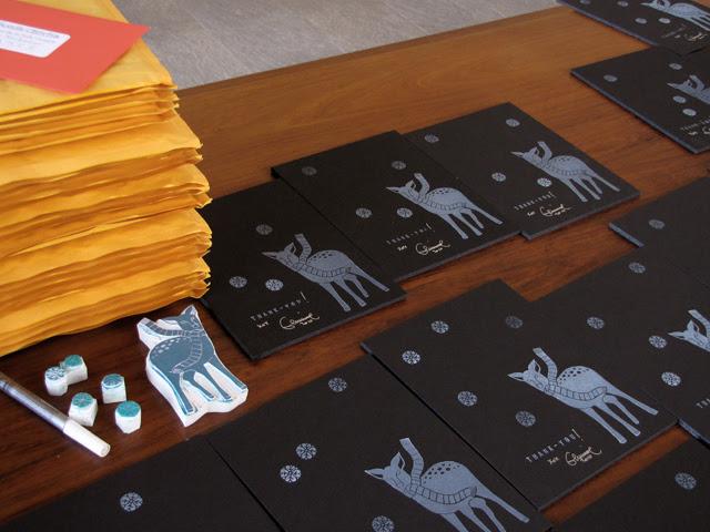 Packaging up my Etsy orders
