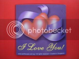 Kutub Utara Kutub Selatan Fridge Magnet Love You So Much Hubby