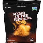 Sugar In The Raw Natural Turbinado Cane Sugar - 96 oz pouch