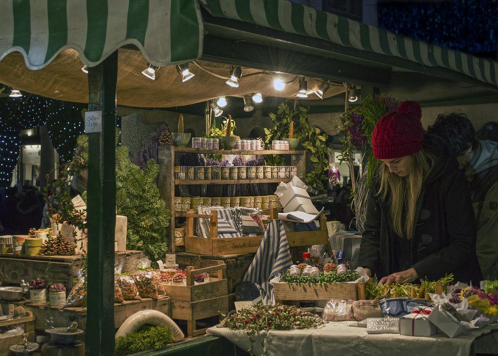 Covent Garden stall - Explore 17 Nov 2013