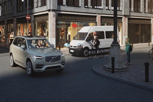 Volvo's Safety Tech Helps Avert Bicyclist-Vehicle Crashes - Top News - Safety & Accident - Fleet Financials