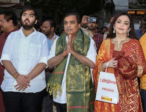 Akash Ambani Shloka Mehta wedding: Mukesh Ambani, Nita