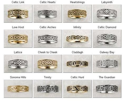 Celtic Wedding Bands    the heart strings one would be a