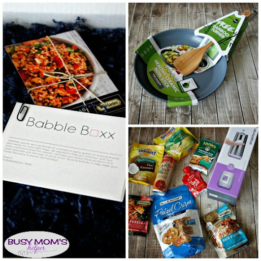 Hosting & Toasting with Babbleboxx - Busy Moms Helper