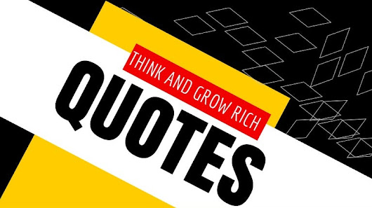 Top 10 Think And Grow Rich Quotes For Daily Inspiration | Chapter 3