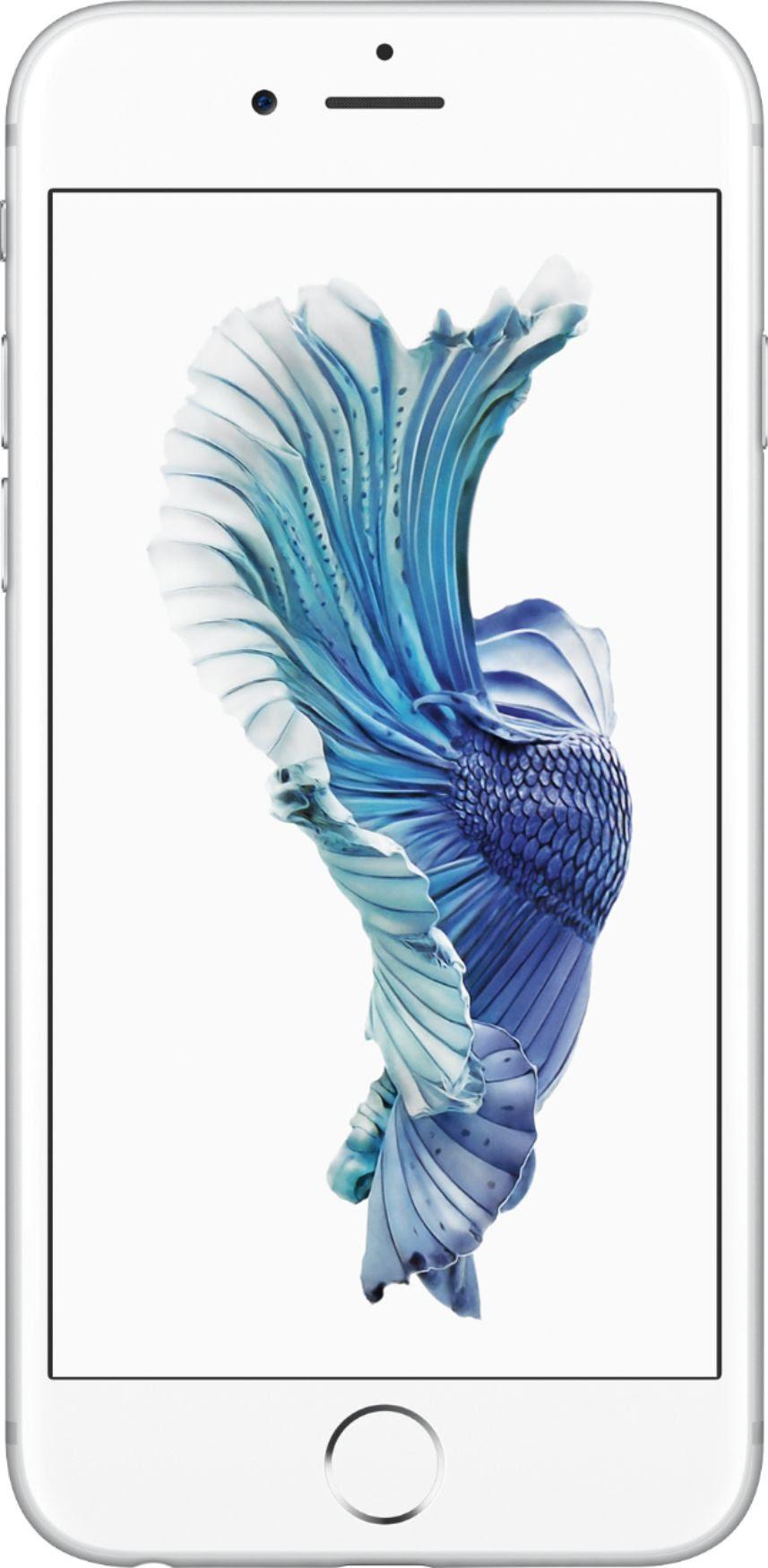 Apple - Iphone 6s 128gb - Silver (verizon)