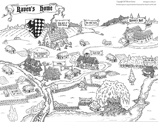 Map of the Week: Raven's Home