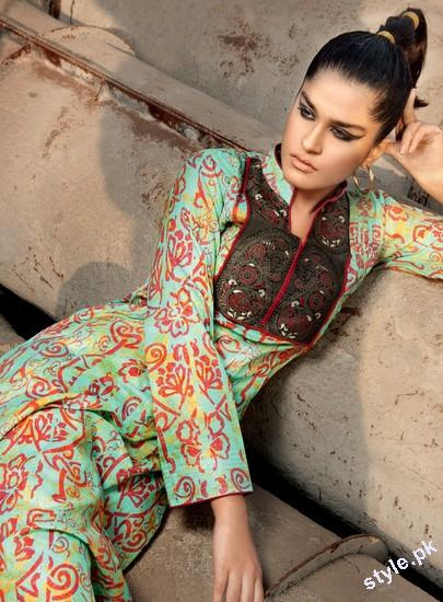 Latest G Women Summer Collection 2012 by Gul Ahmed 1