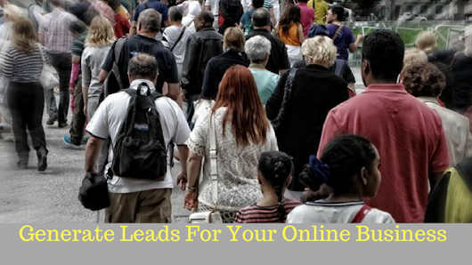 How To Generate Leads For Your Online Business Without Too Much Expense - Bruno Buergi