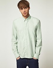 Selected Mint Green Oxford Shirt