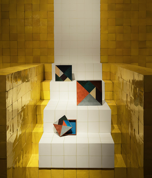 Hermès brings colour to Salone del Mobile with zellige-tiled pavilions