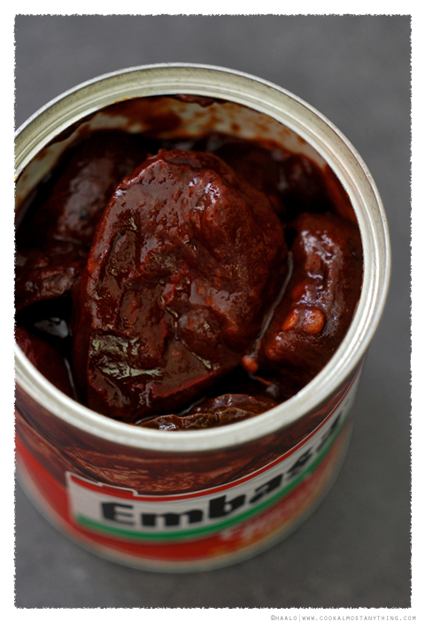 Chipotle Peppers in Adobo Sauce© by Haalo