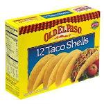 Old El Paso Crunchy Taco Shells, Ready-To-Eat (4.6 OZ, 12 Per Case)