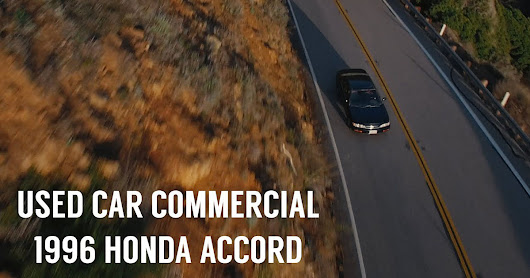 This Guy Shot a Car Commercial to Sell His Girlfriend's 1996 Honda Accord