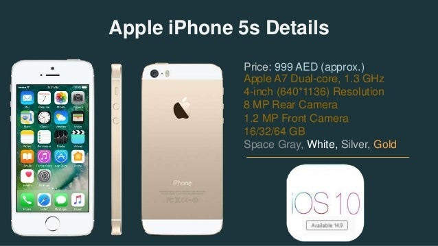 Iphone 5s Details And Price