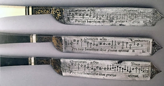Notation Knives: Listen to Cutting Edge Music From the Renaissance