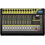 SKP PRO AUDIO VZ-120 II MAX POWER 2000W 12 Channel POWERED MIXER with Bluetooth