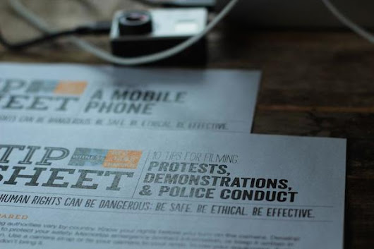 WITNESS Resources for Filming Protests and Police Conduct in Ferguson, MO - WITNESS Blog