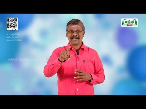8th Science அண்டம் மற்றும் விண்வெளி அறிவியல்  பாடம் 8  பகுதி 2 Kalvi TV