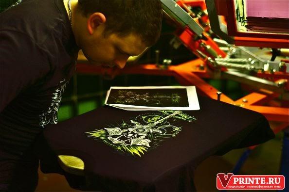 лучшая печать футболки