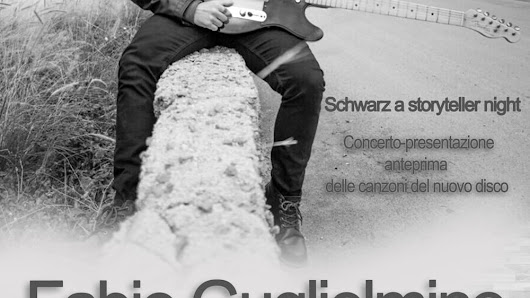 """Schwarz, a storyteller night"", il concerto di Fabio Guglielmino all'Auditorium Rai"