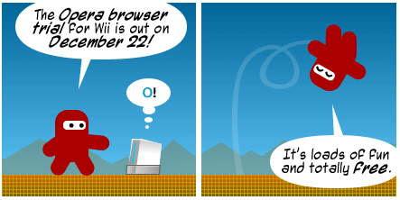 Opera Wii Comic Strip